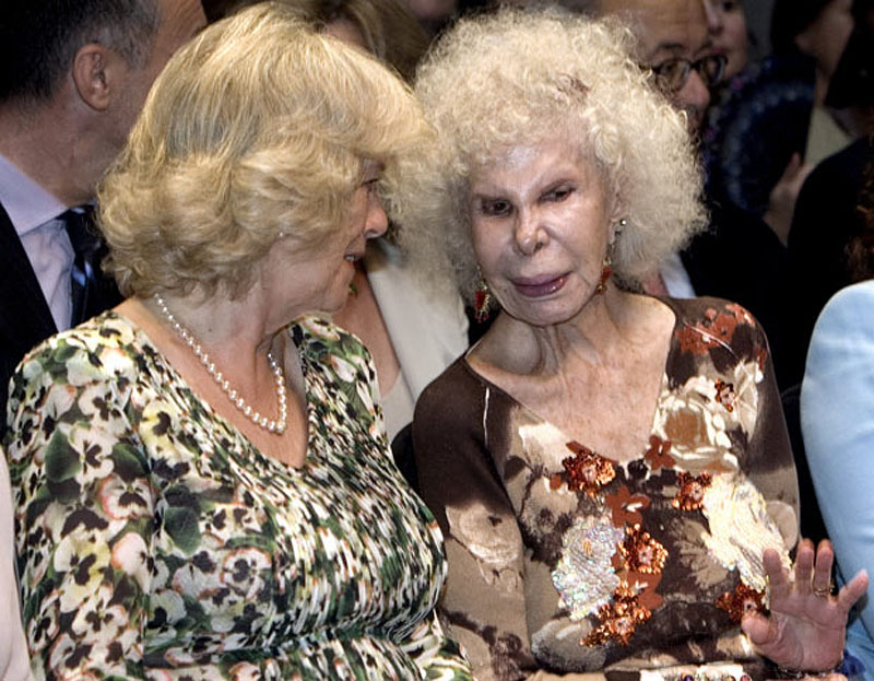 photo049 85 летняя Герцогиня Альба снова выходит замуж