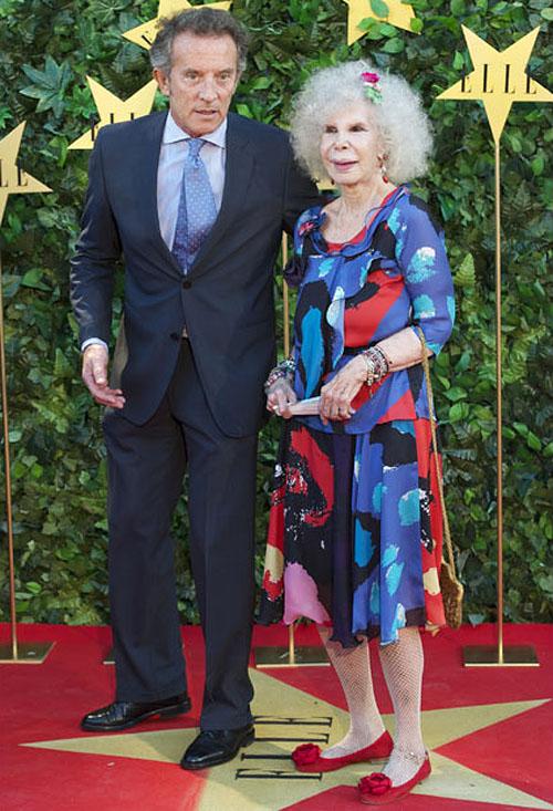 photo079 85 летняя Герцогиня Альба снова выходит замуж