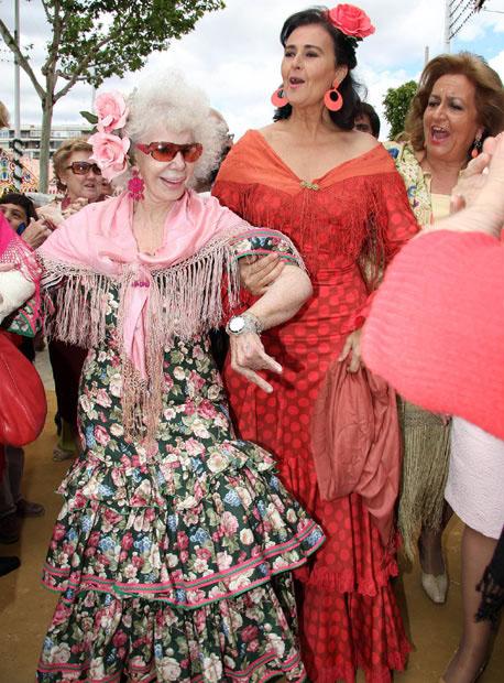 photo157 85 летняя Герцогиня Альба снова выходит замуж