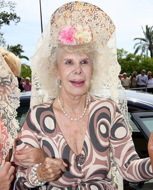 photo166 85 летняя Герцогиня Альба снова выходит замуж