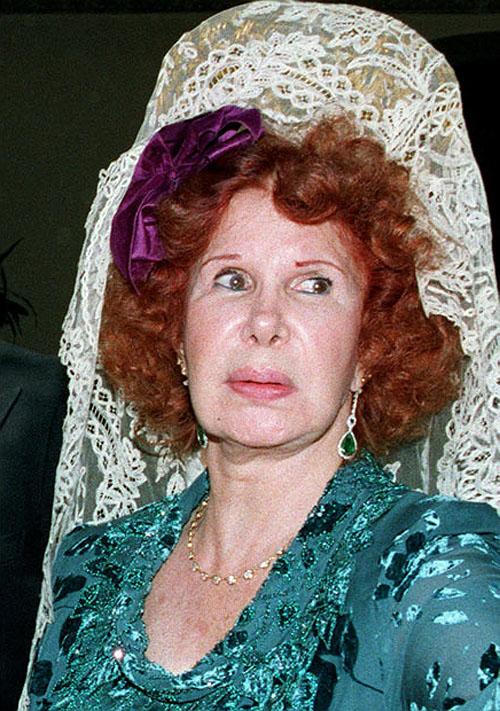 photo172 85 летняя Герцогиня Альба снова выходит замуж