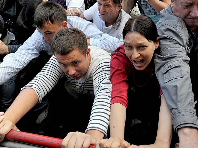svv 2417 Юлия Тимошенко арестована