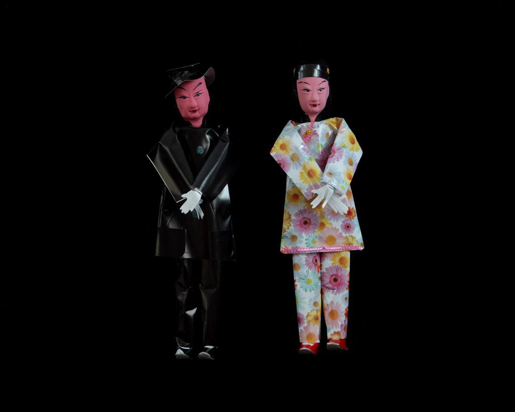 tong kurt p1 01 Бумажные подношения духам предков в современном Китае