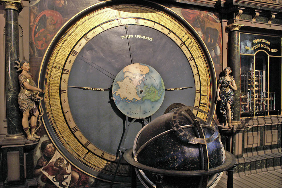 10124 астрономические часы – в прямом и