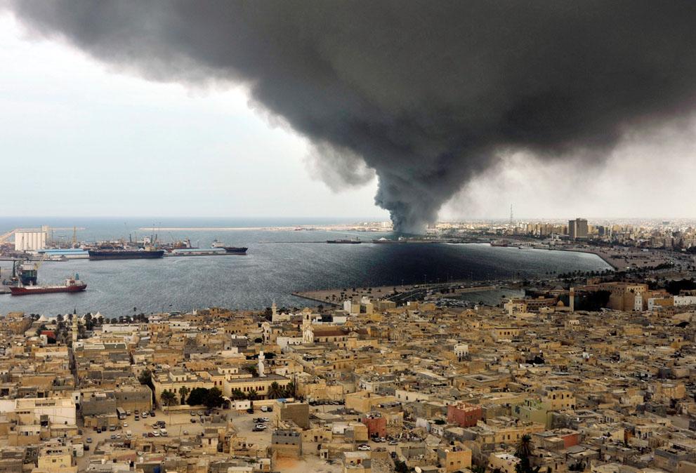10 188 pemberontak menyerang di Libya sisa perlawanan pasukan Gaddafi