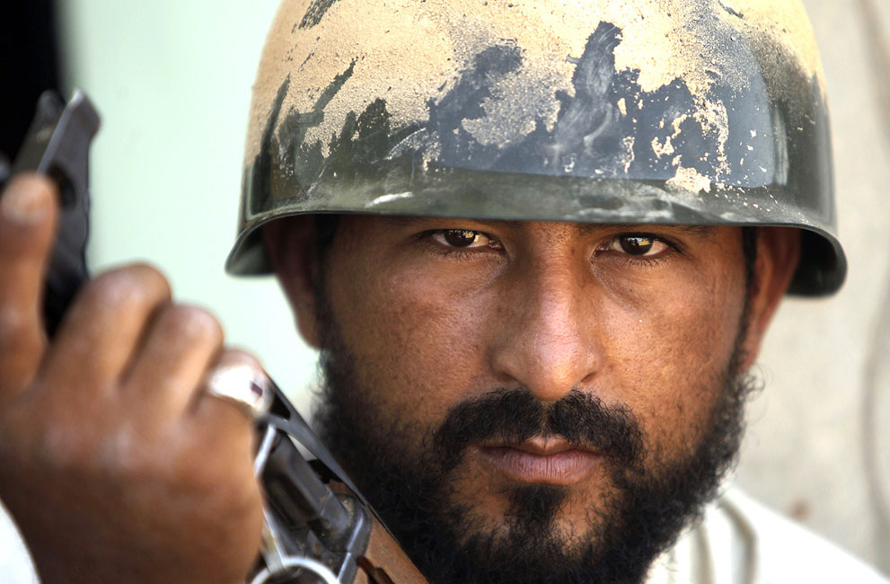 11 020 pemberontak menyerang di Libya sisa perlawanan pasukan Gaddafi