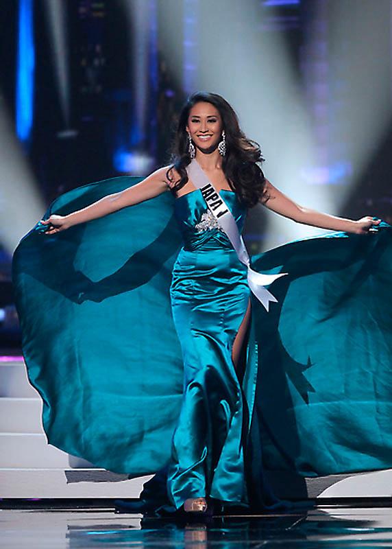 Мисс мира 2011 попка