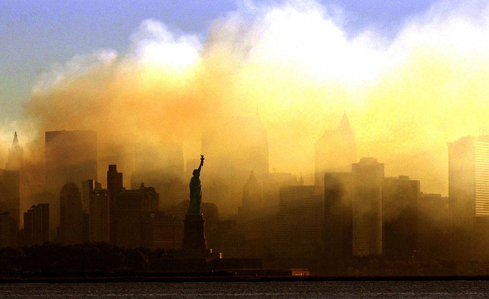 Foto serangan September 11, 2001