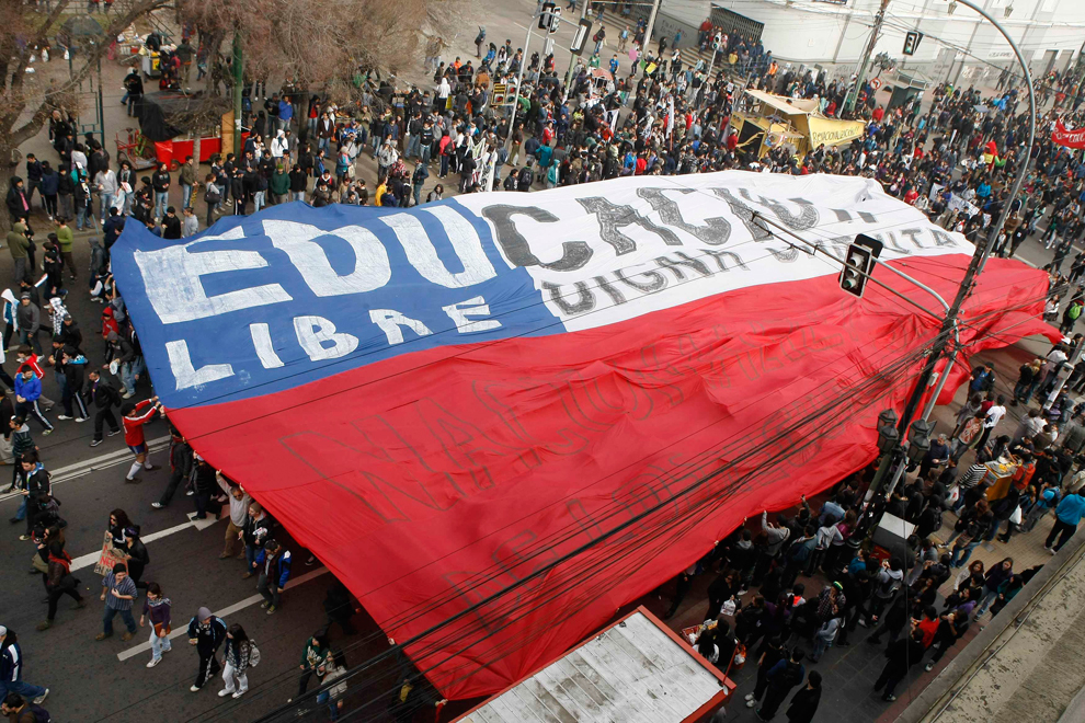 Студенческие протесты в Чили