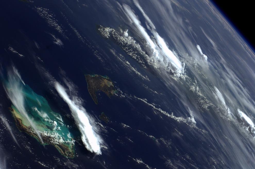 Фотографии, сделанные астронавтом Рональдом Гараном