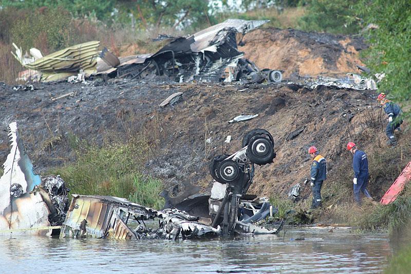 13110 Трагедия в Ярославле: Погибла команда Локомотив Ярославль