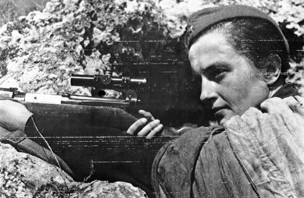 Вторая мировая война в фото женщины
