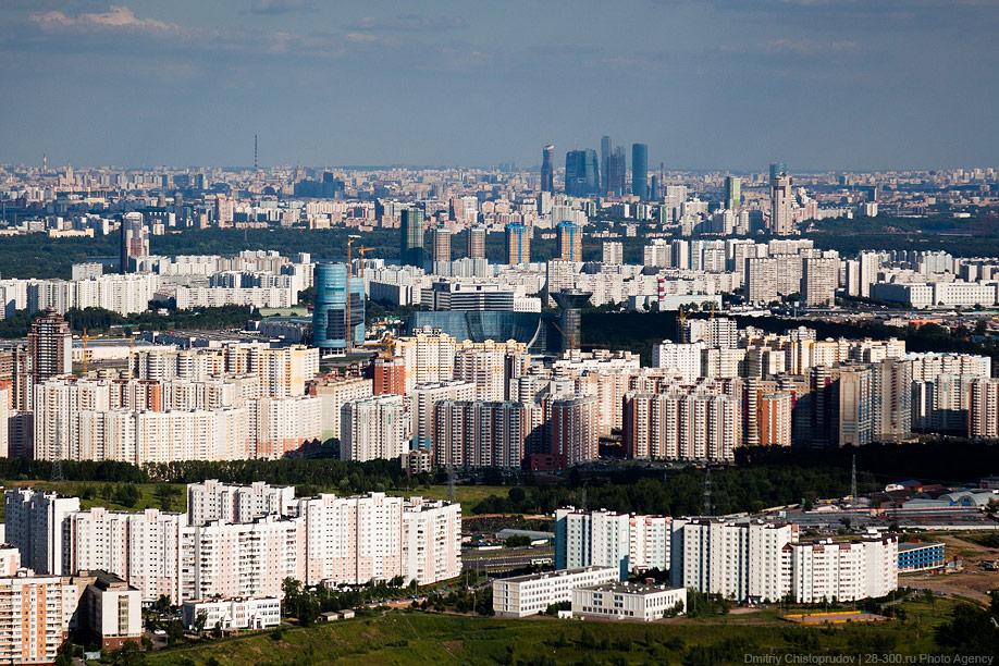 Пролетая вдоль Москвы. Часть 1.