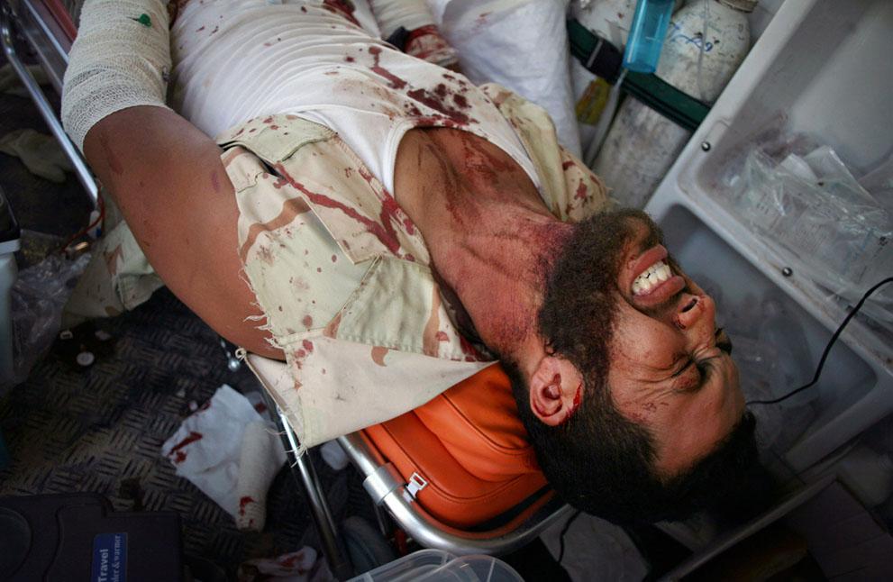16 141 pemberontak menyerang di Libya sisa perlawanan pasukan Gaddafi