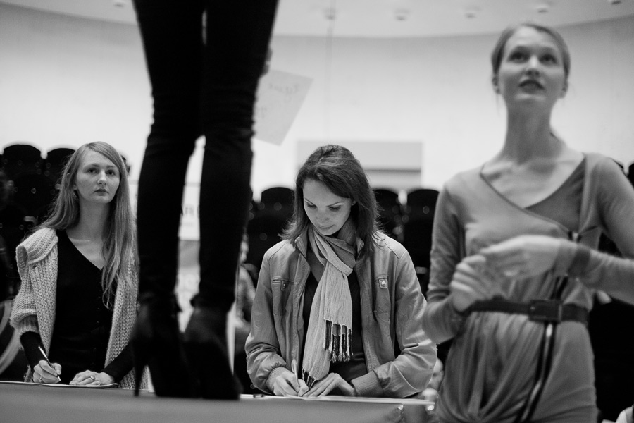 Кастинг на Belarus Fashion Week.