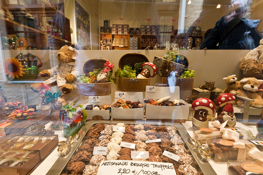 Бельгийский шоколад по своимам