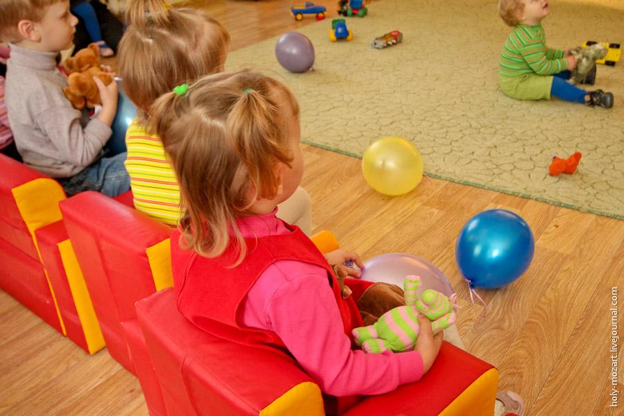Выходной день в детском доме