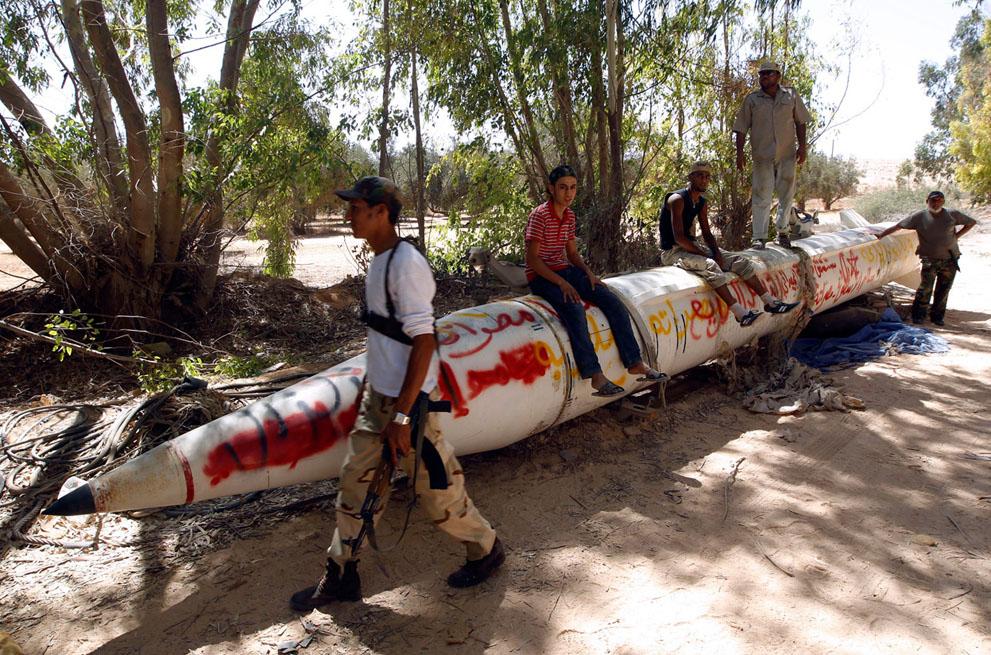19 126 pemberontak menyerang di Libya sisa perlawanan pasukan Gaddafi