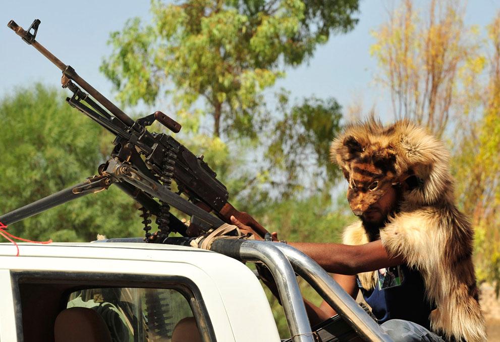 20 119 pemberontak menyerang di Libya sisa perlawanan pasukan Gaddafi