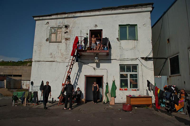 2033 Путина на Сахалине: Рыбзавод