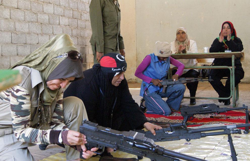 21 166 pemberontak menyerang di Libya sisa perlawanan pasukan Gaddafi