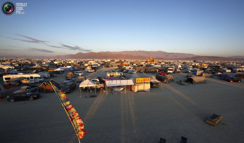 Фестиваль Burning man 2011