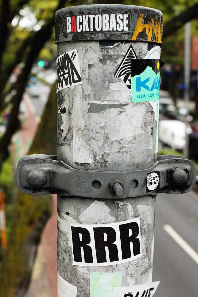 Граффити в Токио