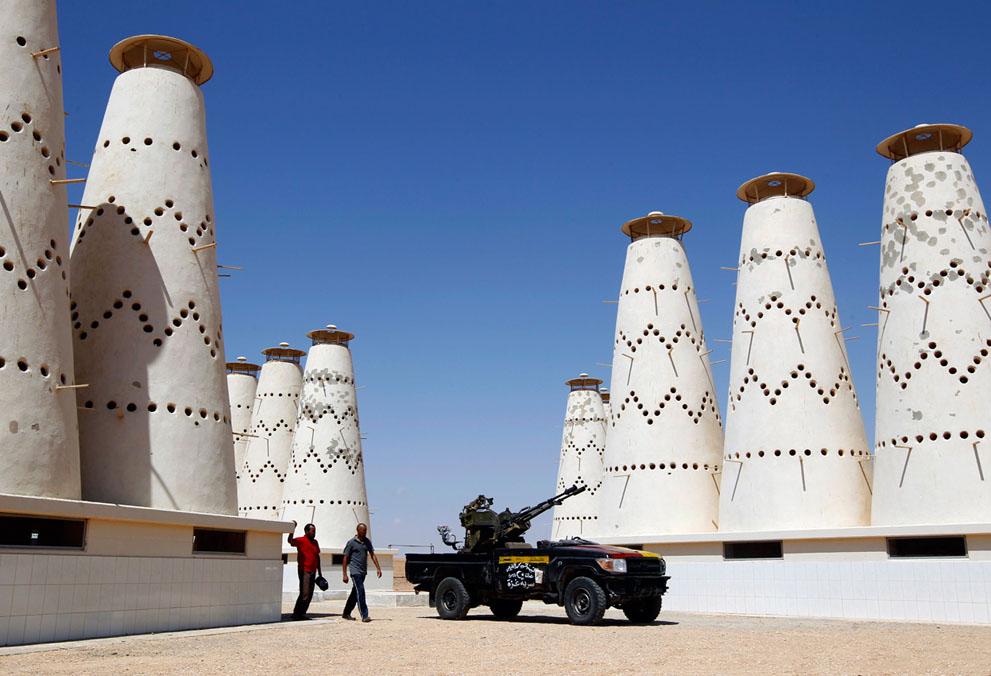 Serangan Pemberontak 3080 di Libya sisa perlawanan pasukan Gaddafi