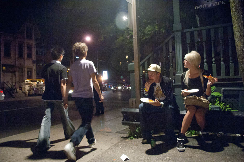 Para Menjinakkan distrik hiburan di Toronto