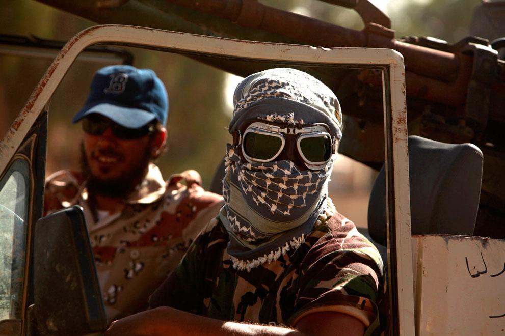 32 114 pemberontak menyerang di Libya sisa perlawanan pasukan Gaddafi