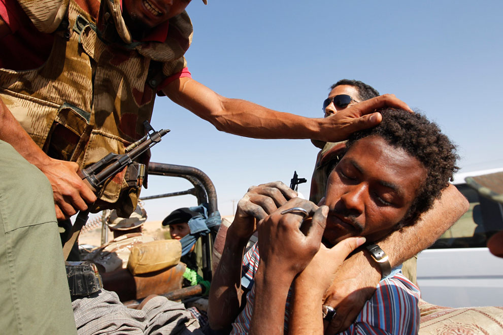 Serangan Pemberontak 3565 di Libya sisa perlawanan pasukan Gaddafi