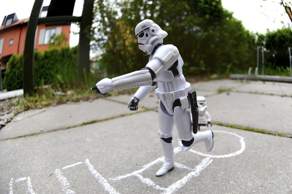 Even Imperial Stormtroopers Need a Break