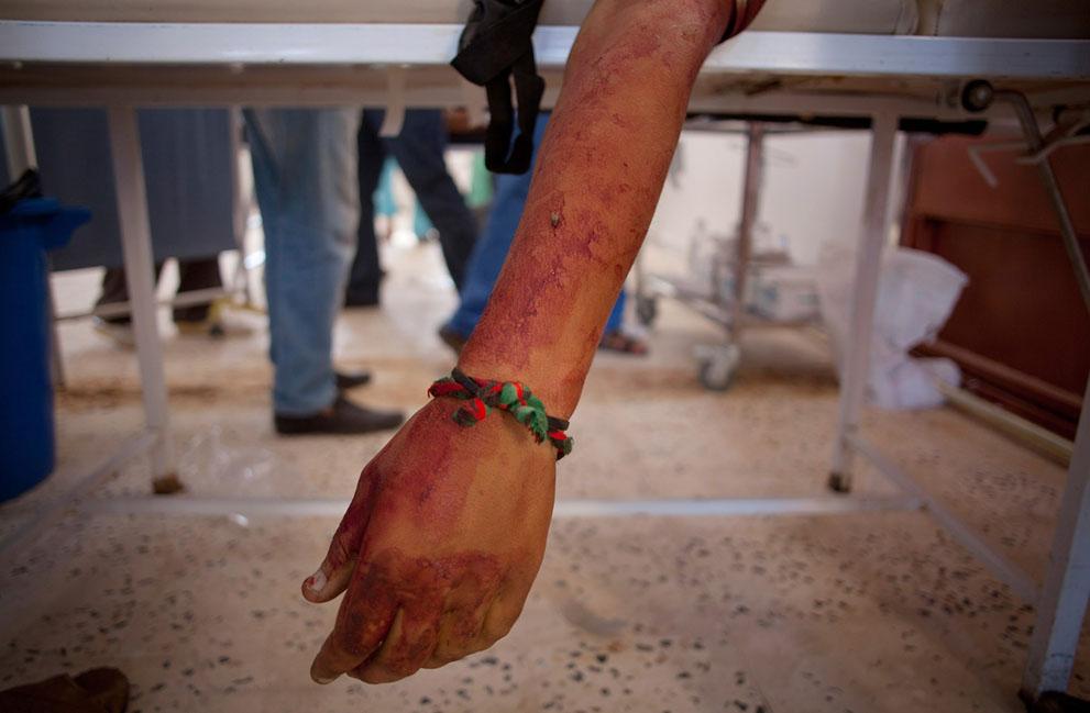 Serangan Pemberontak 3850 di Libya sisa perlawanan pasukan Gaddafi