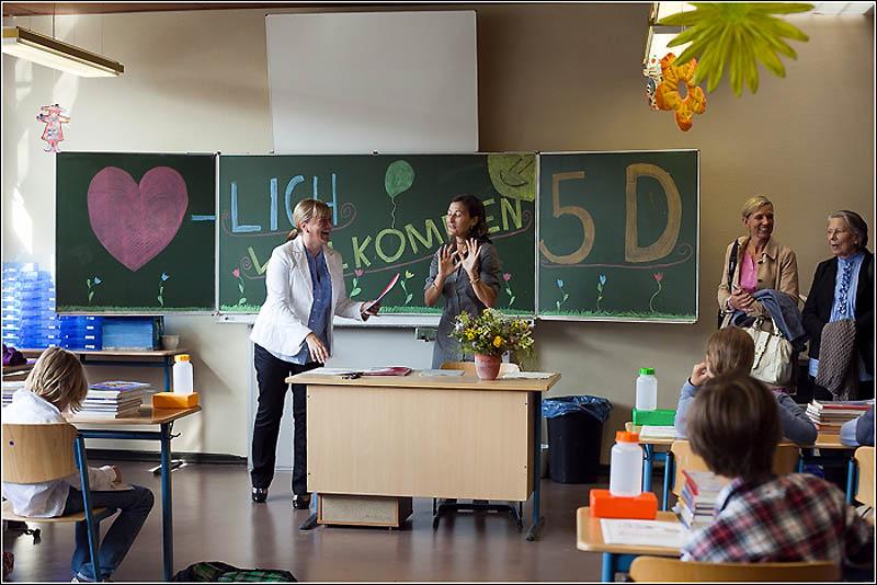 Первый учебный день в немецкой гимназии