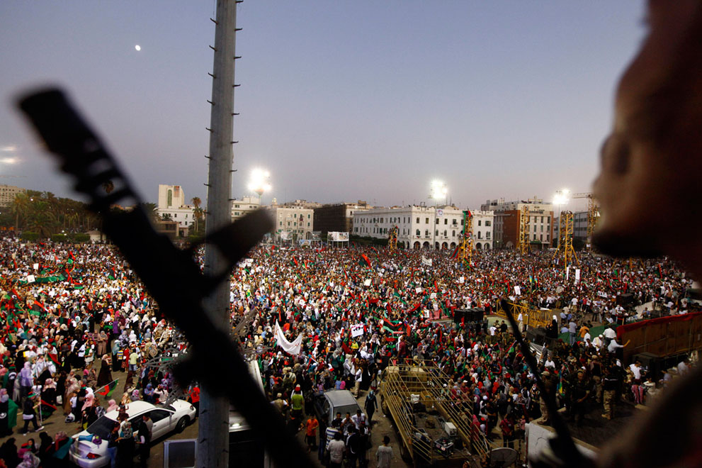 Serangan Pemberontak 5248 di Libya sisa perlawanan pasukan Gaddafi