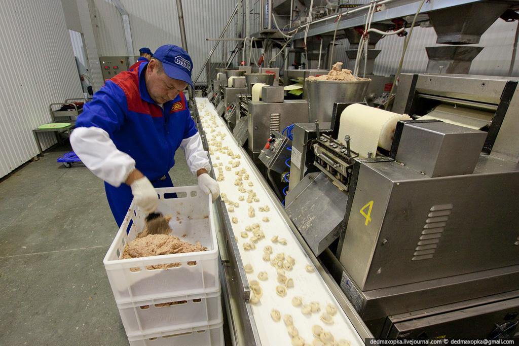 Производство пельменей в санкт-петербурге