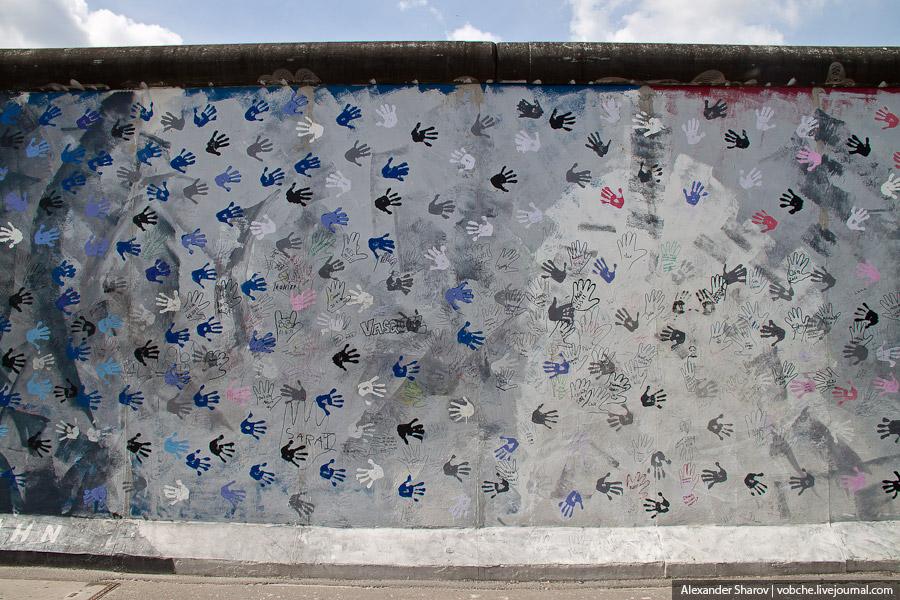 Берлинская стена сегодня