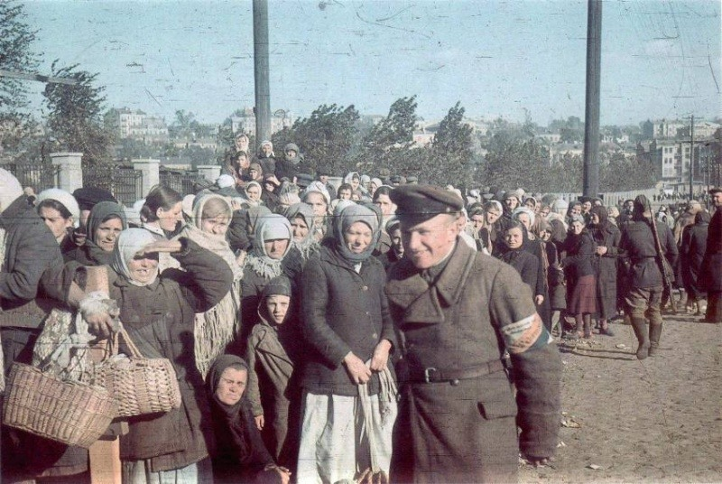 Pendudukan Jerman Kiev.  Babi Yar