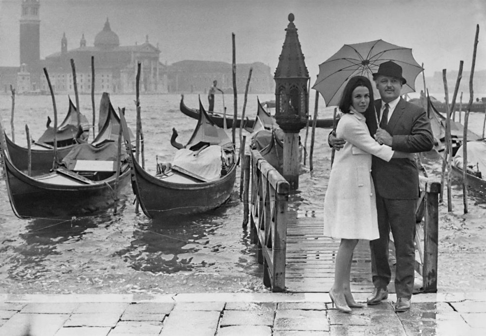 Вспоминая прошлое: Знаменитости в Венеции