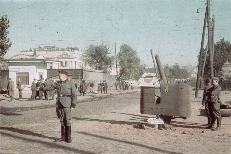 Немецкая оккупация Киева. Бабий Яр
