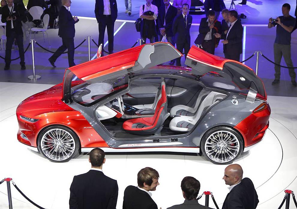 Автосалон во Франкфурте презентовал автомобили будущего