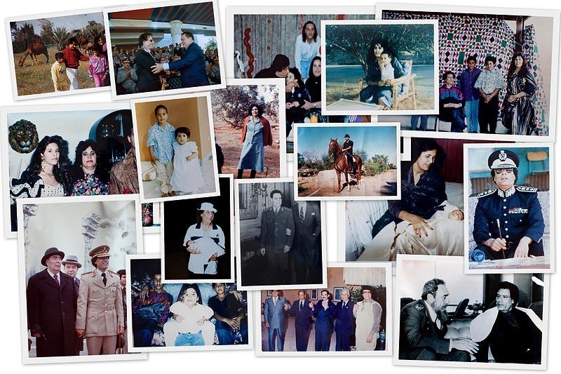 BIGPIC Фотографии из семейного альбома полковника Каддафи