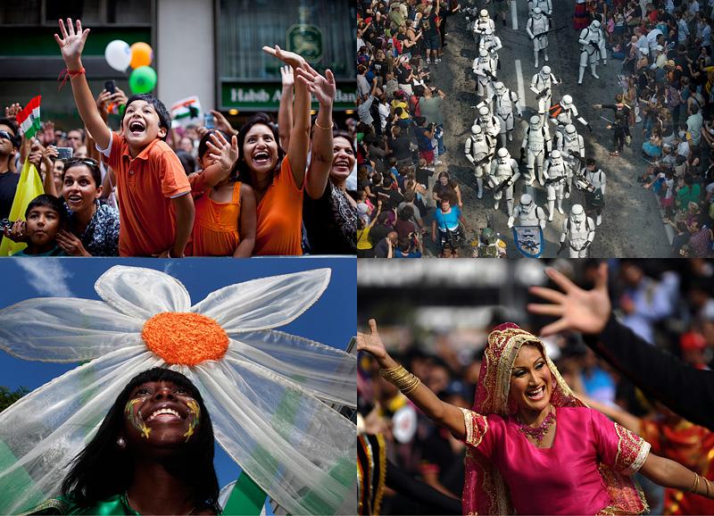 Парады в разных странах мира