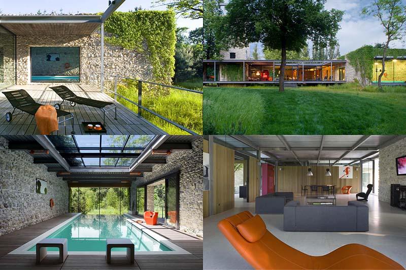 Jodlowa House – стеклянный дом в Кракове отPCKO