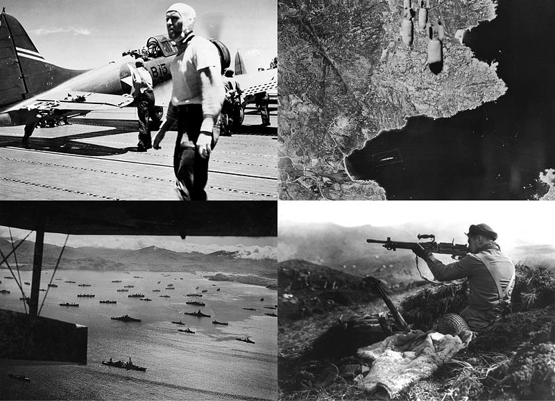 Вторая мировая война: Битва у атолла Мидуэй и Алеутская операция (Часть 11)