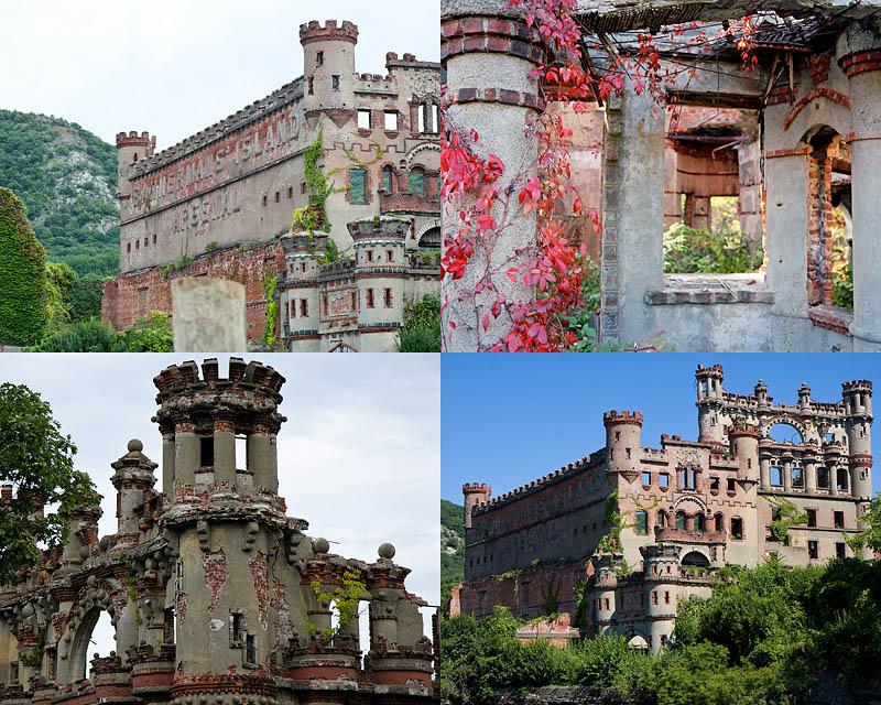 Руины на острове Баннермана