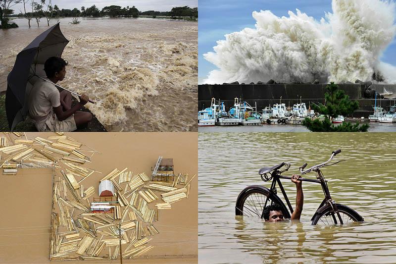 BIGPIC170 Бушующая стихия в разных странах