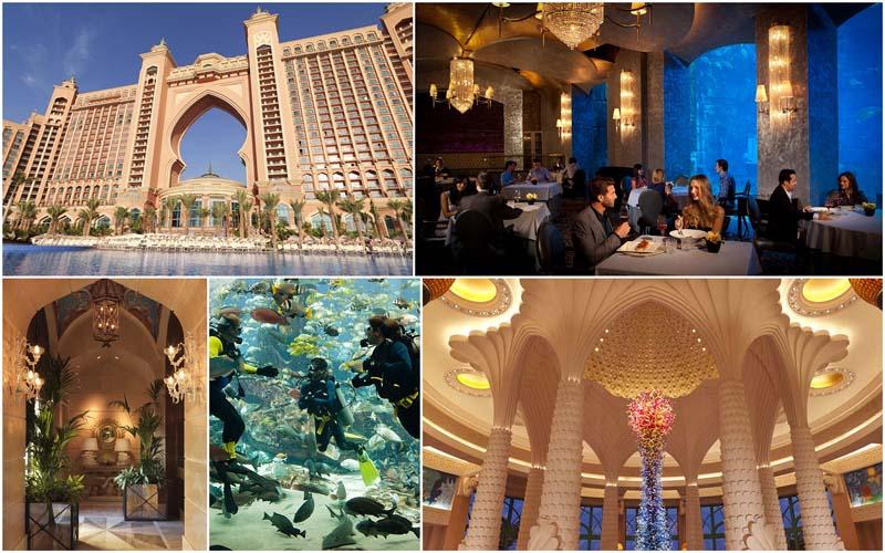 Сказка наяву – роскошный отель Атлантис вДубаи