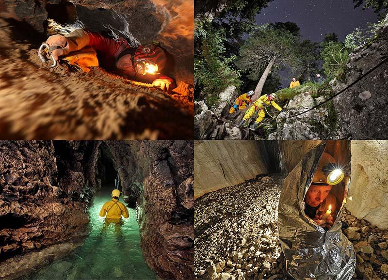 Фото-исследование пещеры ГуфрБерже