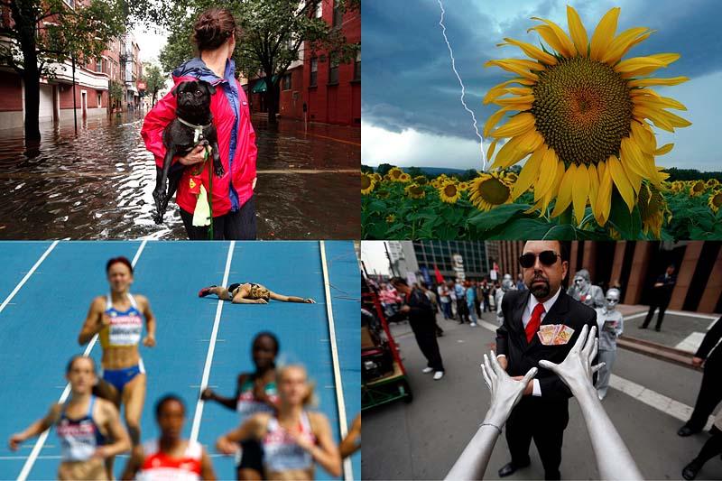 Лучшие фото REUTERS за август (Часть 1)
